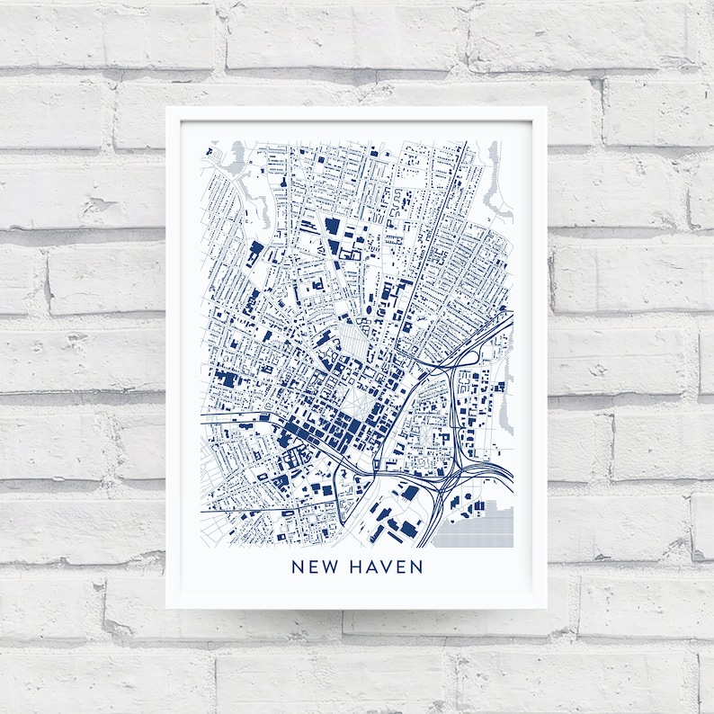 NEW HAVEN CT Map Print / Yale University Gifts / Yale Bulldogs / Yale on thames river on world map, ceibs map, clayton map, englewood map, wagner map, ohio u map, west texas a&m map, city borders map, bates map, london location on world map, harvard map, university of pennsylvania map, princeton map, unitec map, union map, grambling state map, amherst map, loyola map, mermaid map, albany state map,