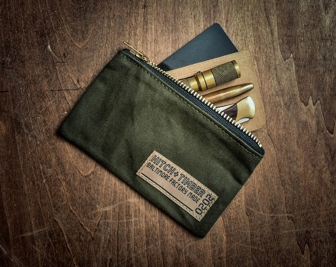 H&T Utility Pouch ~ Made in Baltimore, MD USA