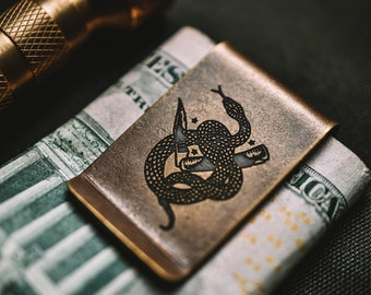 H&T Money Clip ~ Made in USA