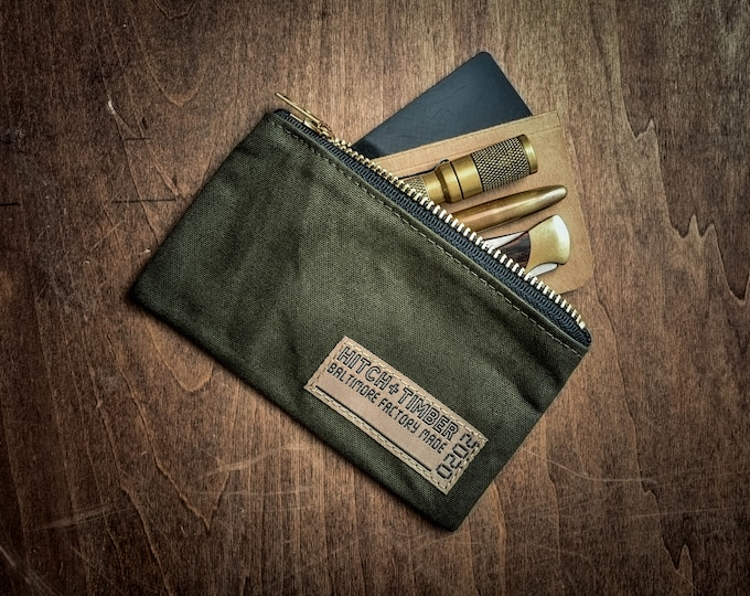 Featured listing image: H&T Utility Pouch ~ Made in Baltimore, MD USA