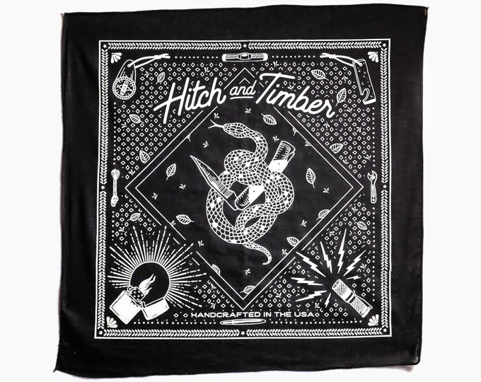 Hitch & Timber Snake Bandana
