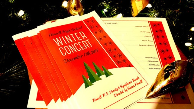 WINTER SCENE Program Template Is Perfect For Any Event Etsy