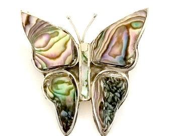 a02519575f3dd Alpaca silver butterfly brooch | Etsy