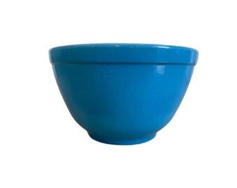 Pyrex Blue Horizon Mixing Bowl 401  1.5 pt