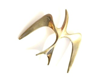 Vintage Bird in Flight Brooch by Sarah Coventry, Scatter Pins