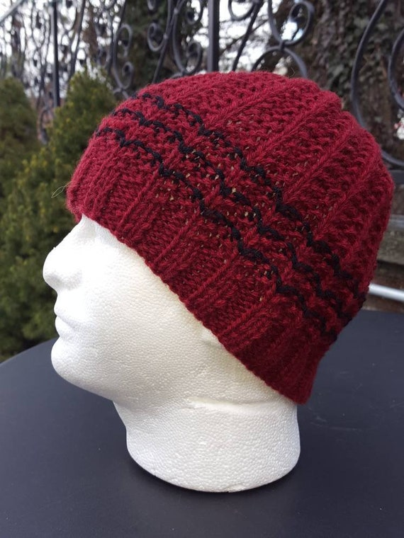 Men s Winter Hats Men s hats Wool hats for men Knit  bb202bd90e5