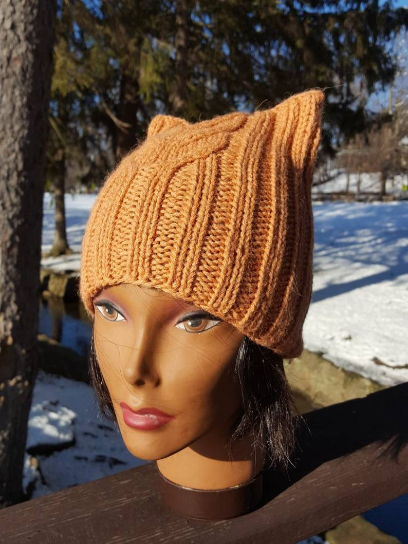 d67a4b1b035 Cat hat Cat Ear Hat Cat Ear Hat Cat Beanie Hats with ears
