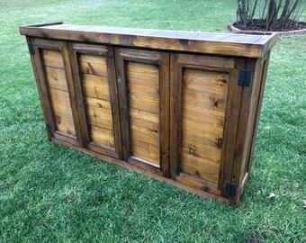 Merveilleux Indoor/Outdoor TV Cabinet