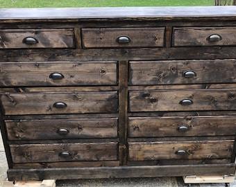 Rustic Bedroom Dresser
