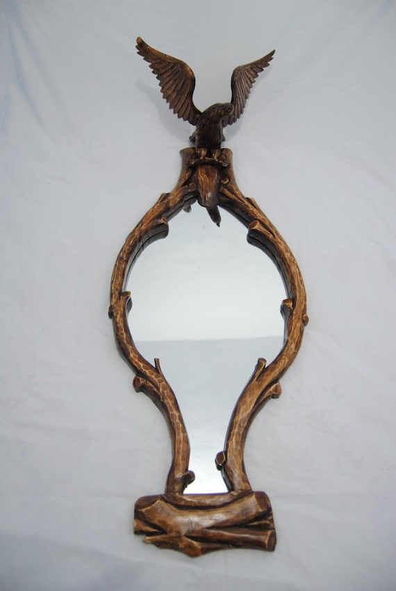 Marco del espejo marroquí Águila artesano hecho a mano de la | Etsy