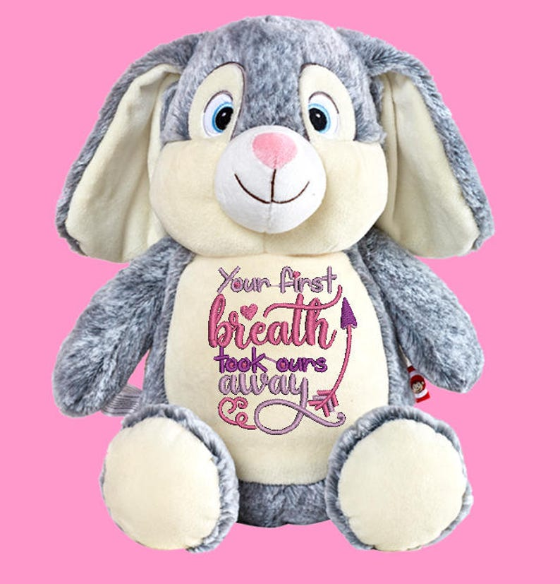 Cubbies Grey Bunny Clovis Brampton Personalized & Embroidered image 0