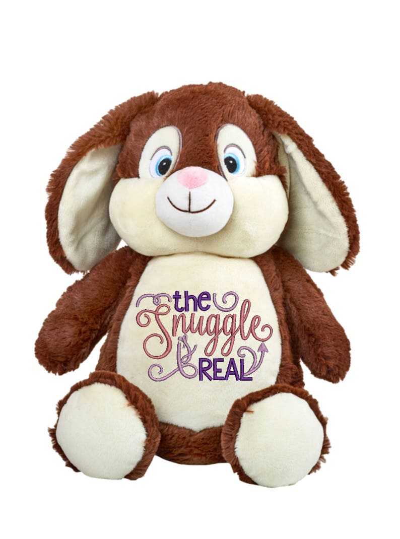 Cubbies Clovis Brampton Brown Bunny Personalized & Embroidered image 0