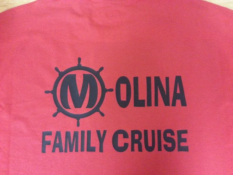 Family Cruise T-shirts customizable image 0