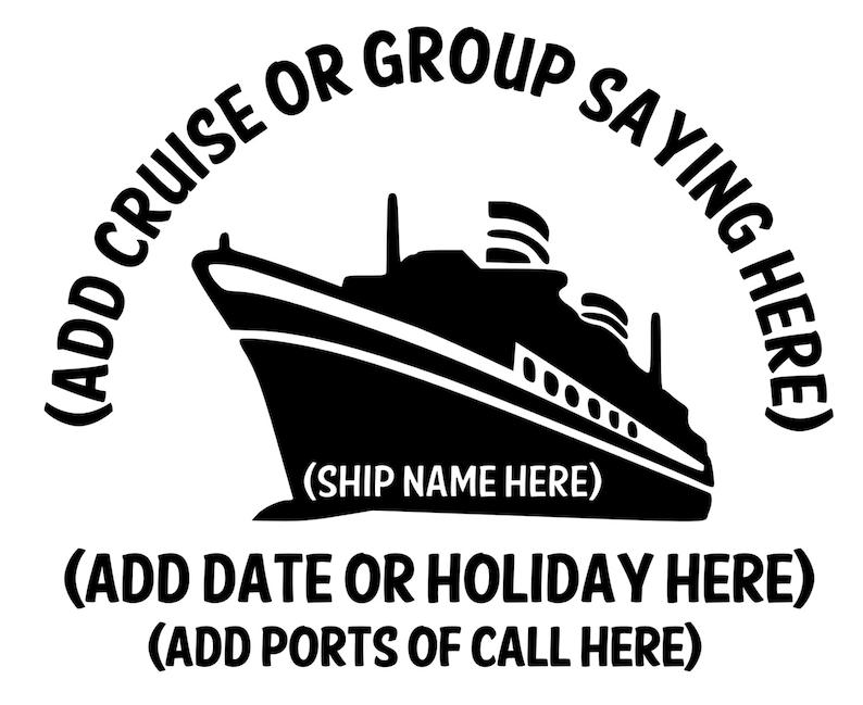 Custom Adult Cruise T-shirts image 0