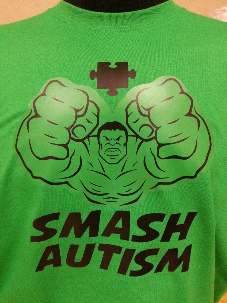 Autism Hulk Smash Autism Adult image 0