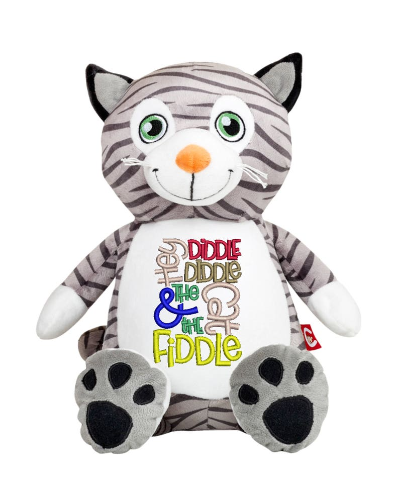 Cubbies Cat Personalized & Embroidered Monogrammed Stuffed image 0