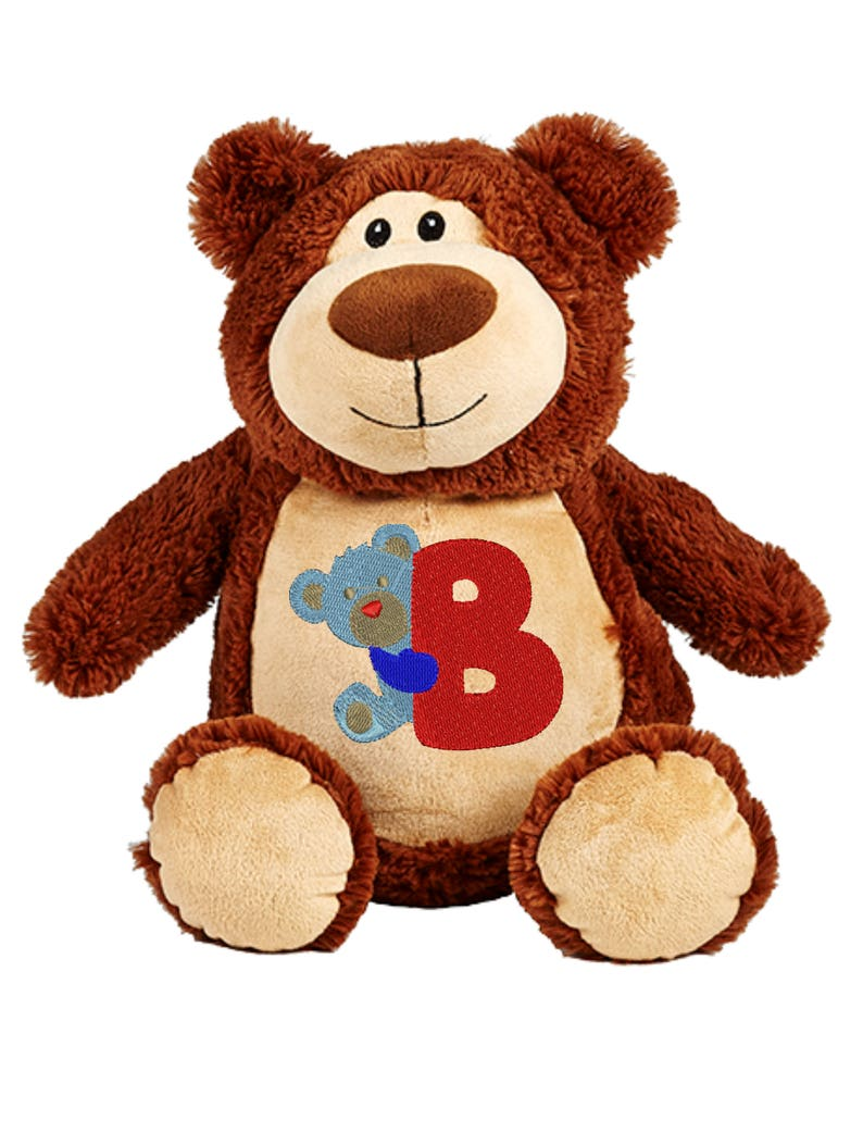 Cubbies Cubbyford Brown Bear Personalized & Embroidered image 0