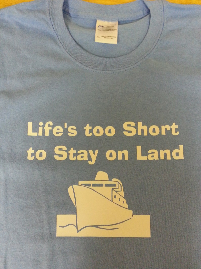 Life's too short Cruise Shirt Youth image 0