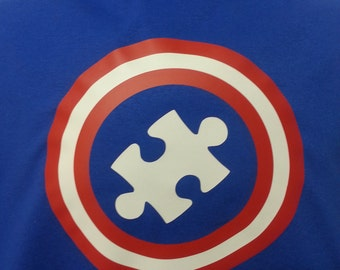 Autism Awareness - Captain Superhero Youth