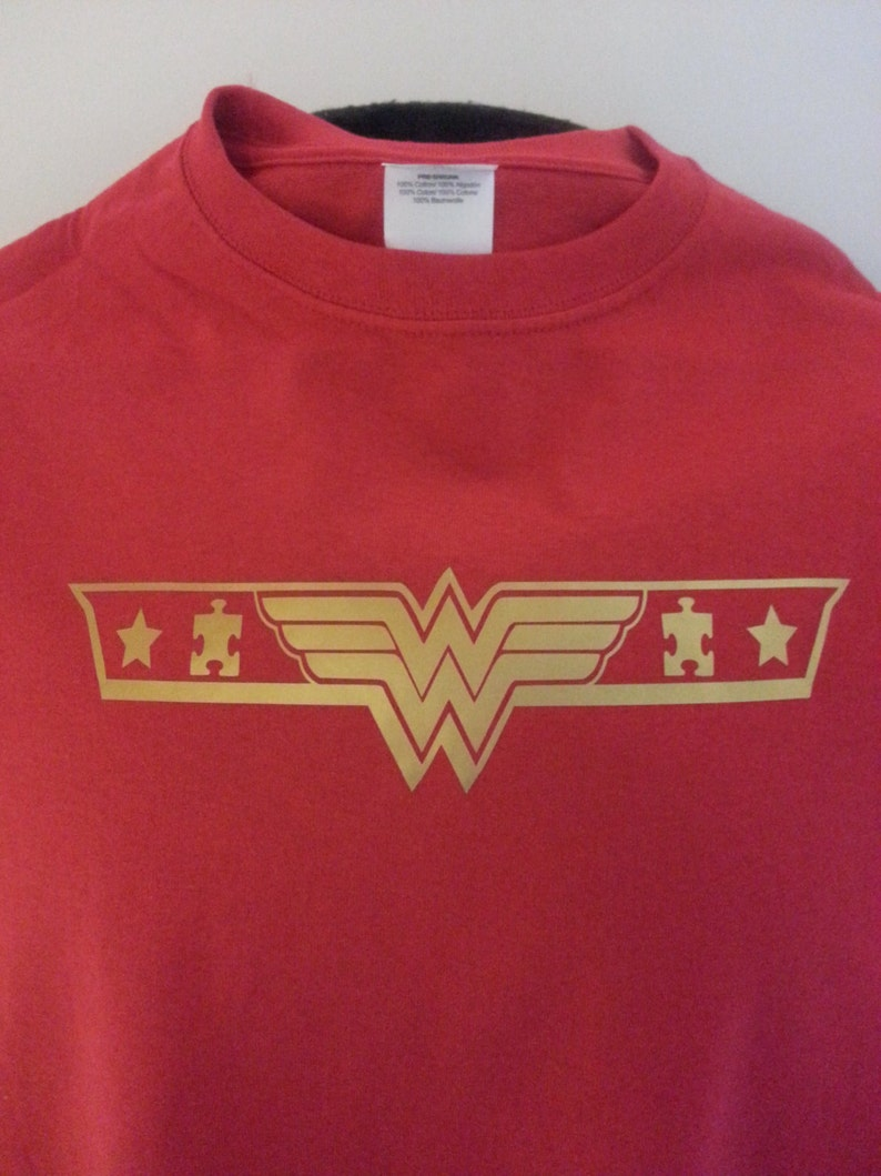 Autism Awareness  Wonder Woman Youth image 0