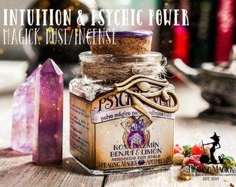 Divination Magick Dust *Psychic Veil* - Rose, Jasmine, Benzoin, Lemon & Opal crystals