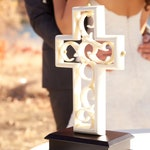 Unity Cross ® Ivory Color Wood and Resin