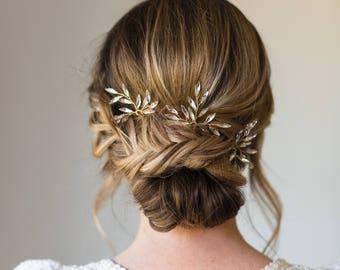 Branch Hair Pins Bridal Hair pins crystal hair pins wedding hair pins wedding headpiece branch hair pins bridal headpiece #161