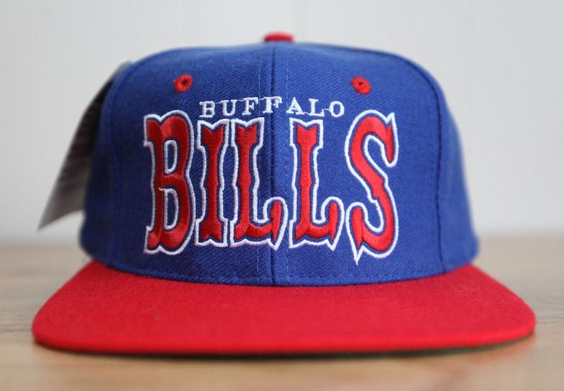 Vintage 90's Buffalo Bills Universal Prosona Snapback Hat image 0
