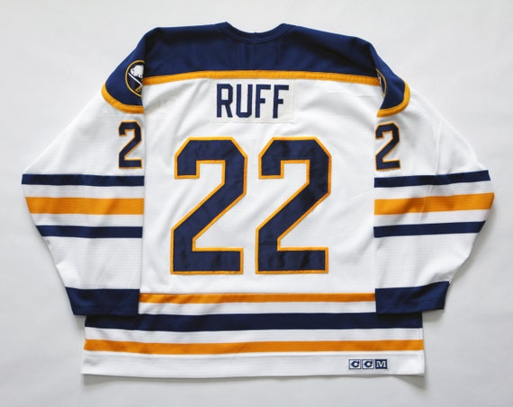 Vintage Throwback 80's Buffalo Sabres Lindy Ruff C