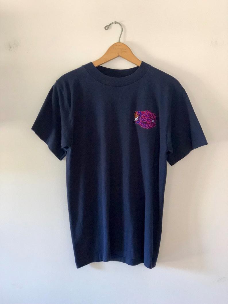 Vintage 90's Buffalo Bisons Boosters T-Shirt SZ M image 0