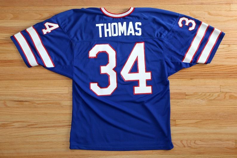 Vintage 90's Buffalo Bills 34 Thurman Thomas Jersey SZ XL image 0