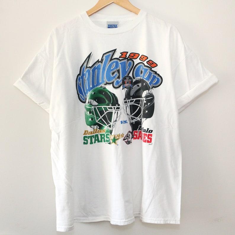 Vintage 1999 Buffalo Sabres Stanley Cup Finals T-Shirt SZ 2XL image 0