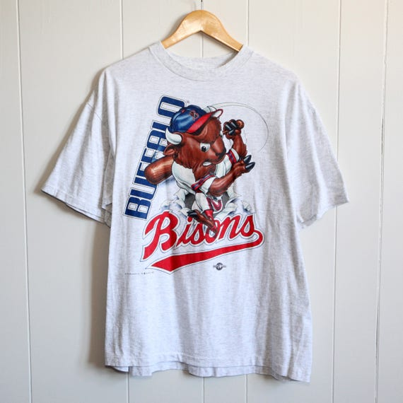 Vintage 90's Buffalo Bisons T-Shirt SZ XL