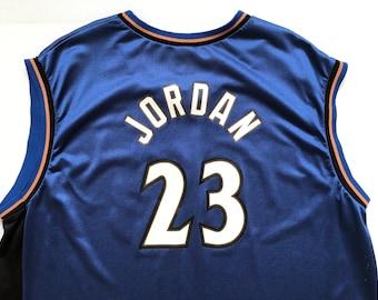 Vintage 2000's Washington Wizards #23 Michael Jordan Champion Jersey SZ XXL (52)