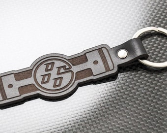 Silhouette Keychain Keyring for FT86 GT86 FRS BRZ