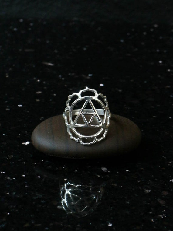 Sternzeichen Ring Sterling Silber Element Erde Jungfrau Etsy