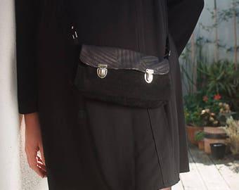 Women purse handbag leather crossbody , black leather handbag, black women bag,  crossbody black purse, womens bag,  mothers day