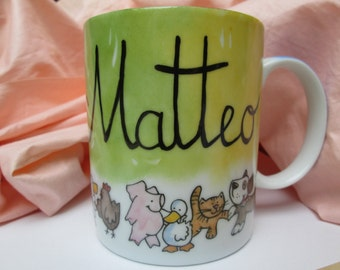 Kids Personalise mugs!
