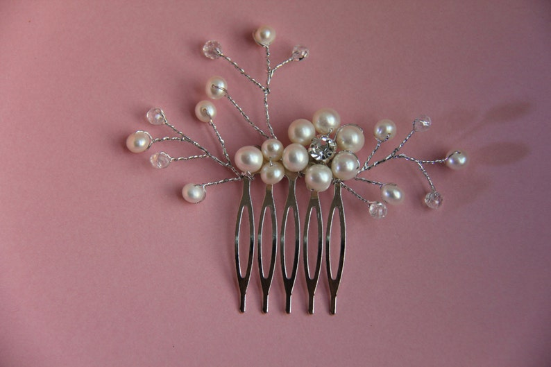 Wedding Hair Accessories crystal hair comb pearl hair combs Bridal Hair combs wedding hair combs flower hair comb