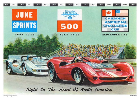 poster reproduction Vintage Motoring Magazine cover 1959