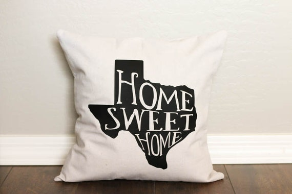 Pillow Cover - State Pride - Texas Strong - Custom Pillow Cover - Housewarming Gift - Christmas Gift - Throw Pillow