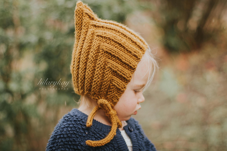 Little Pixie hat Knitted Pixie Hat Winter Hat Toddler  c84d2daea29