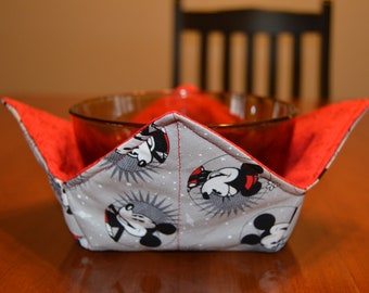 potholder Minnie mouse reversible insulated bowl holder microwave bowl holders