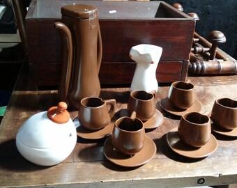 rare erotic coffee set