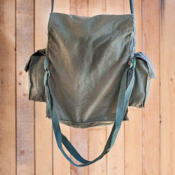 Military bag canvas bag canvas messenger bag crossbody bag canvas backpack soviet army bag military backpack canvas crossbody bag vintage