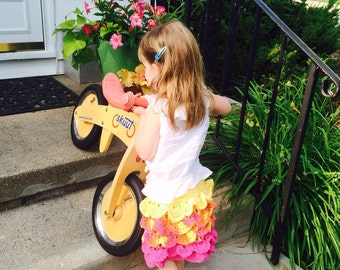Bright, frilly, fun toddler skirt