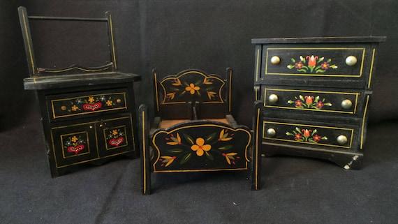 Sale Vintage Dollhouse Miniature Lancaster Pennsylvania Dutch Etsy