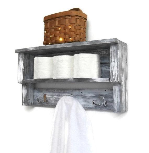 White Shabby Chic Bathroom Shelves With Hooks Chunky Bathroom Shelves Reclaimed Wood Pallet Shelf Rustic Wood Shelves For Wall Towel Rack