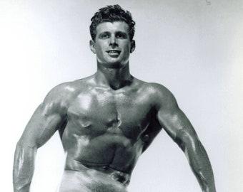 Bruce Of LA Jack Thomas Nude Beefcake 8x10  single weight photo Athletic Model Guild #2-jt