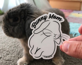 Bunny Decals FREE SHIPPING